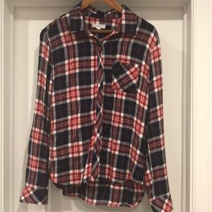 Long-sleeve size M flannel